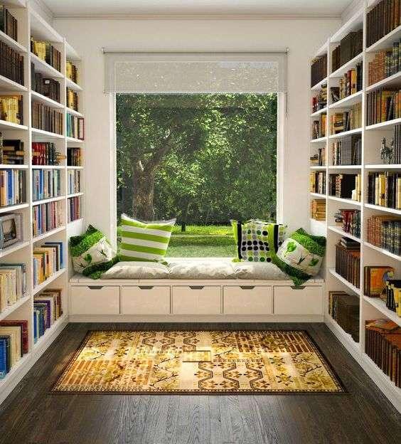 Os mais lindos espaços de leitura!