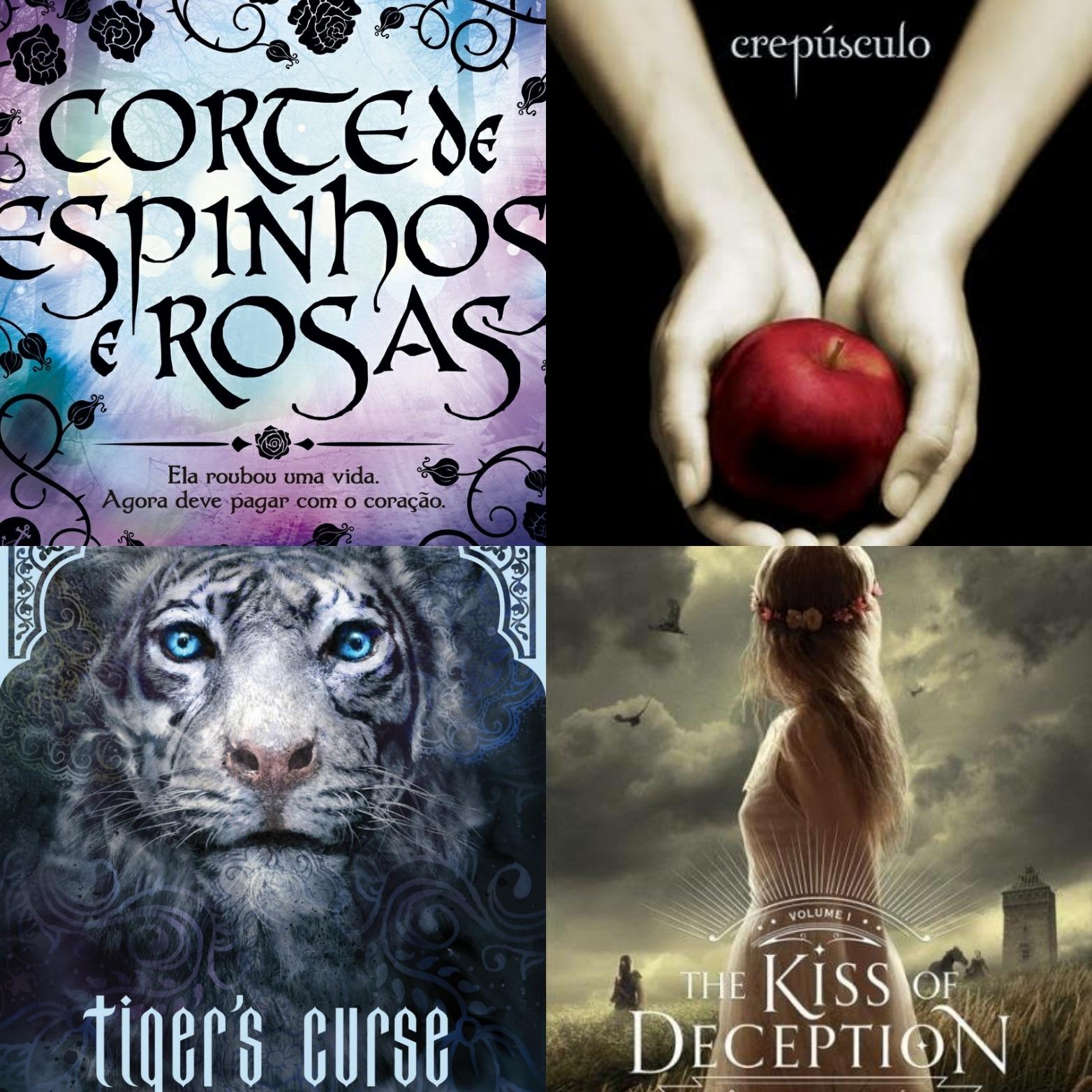 10 livros de fantasia com MUITO romance