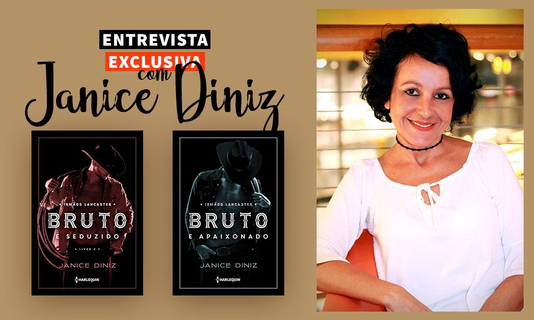Entrevista exclusiva com Janice Diniz: inspirações, livros novos e muito mais!