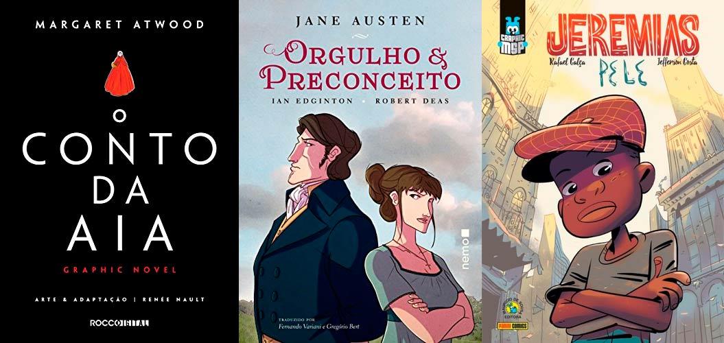 As 12 melhores Graphic Novels para se apaixonar!