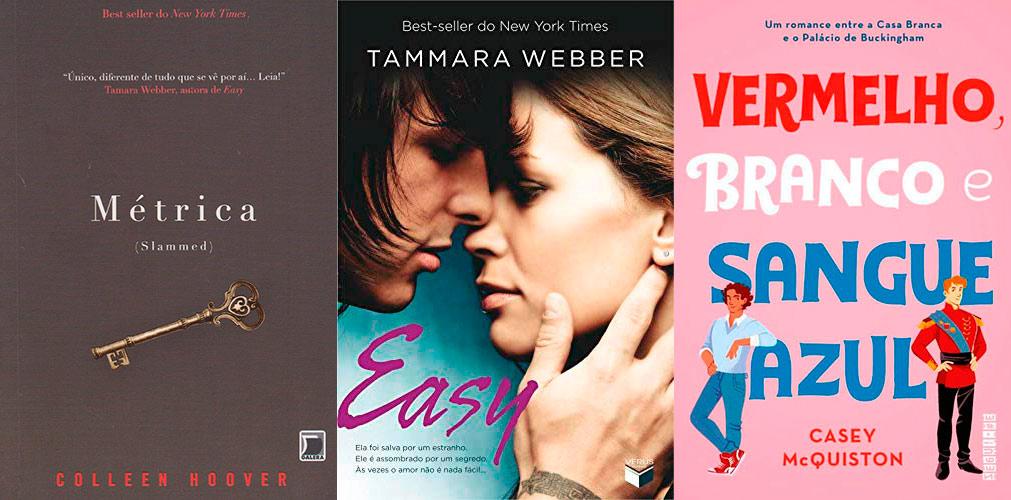 New Adult: 10 livros incríveis para se apaixonar